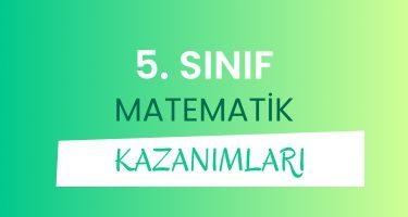 5. Sınıf Matematik Dersi Konuları