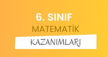6. Sınıf Matematik Dersi Konuları